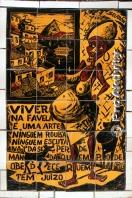 Brazílie - RdJ - dlaždičkované schodiště umělce Selaróna