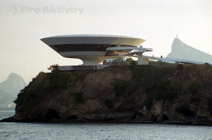 Brazílie - Niterói - Muzeum moderního umění