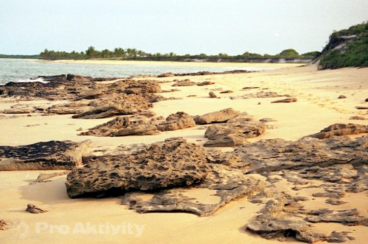 Brazílie - Caraíva-Ponta do Corumbau, 11 km pěšky po pláži