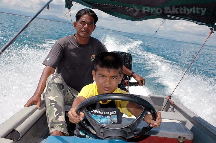 Malajsie - plavba na ostrov Perhentian Kecil