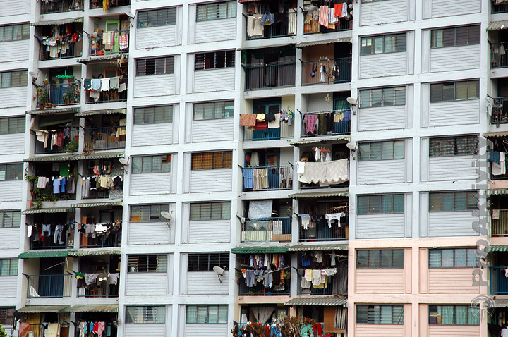 Malajsie - Kuala Lumpur - bytovka