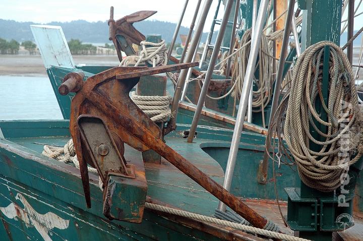 Thajsko - Ranong - přístav