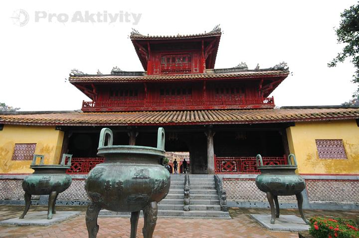 Vietnam - Hue - Císařské město, Pavilon večné čistoty, Hien Lam Cac