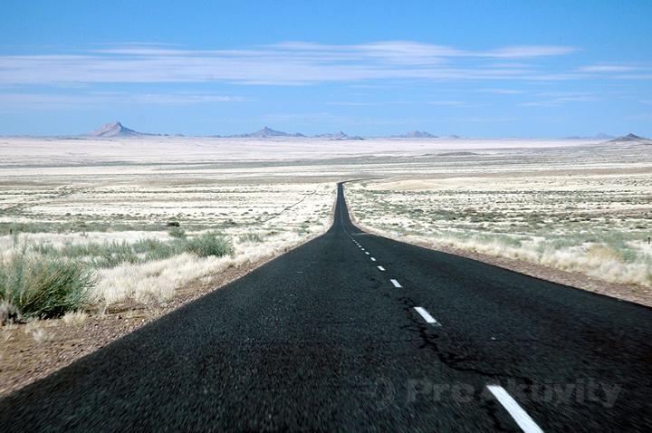 Namibie - silnice B1