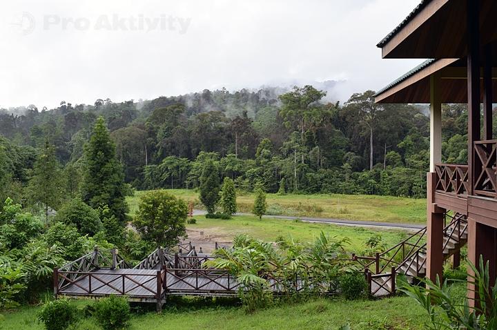 Malajsie - Sabah - návštěvnické centrum Pánev Maliau
