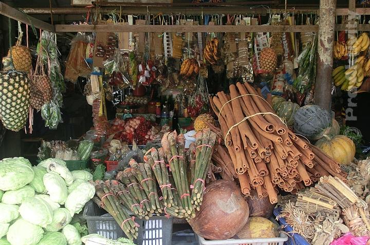 Malajsie - Keningau - tržnice