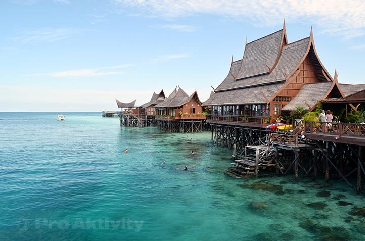 Malajsie - Sabah - ostrov Mabul
