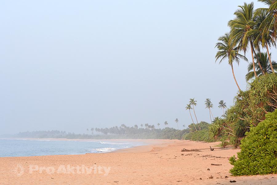 Šrí Lanka - pláž Rekawa