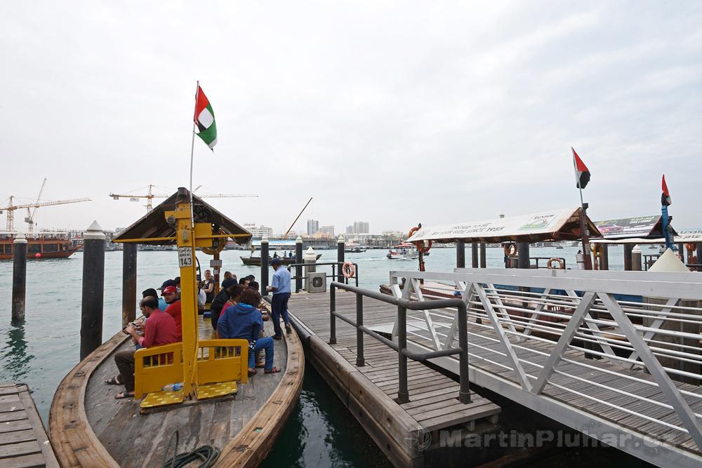 přístaviště lodí abra, čtvrť Deira