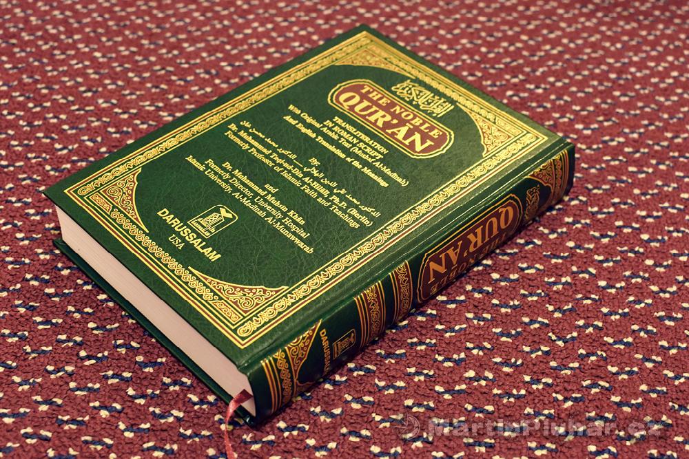 Korán, přeloženo v Německu a Saúdské Arábii, vytištěno v SSA