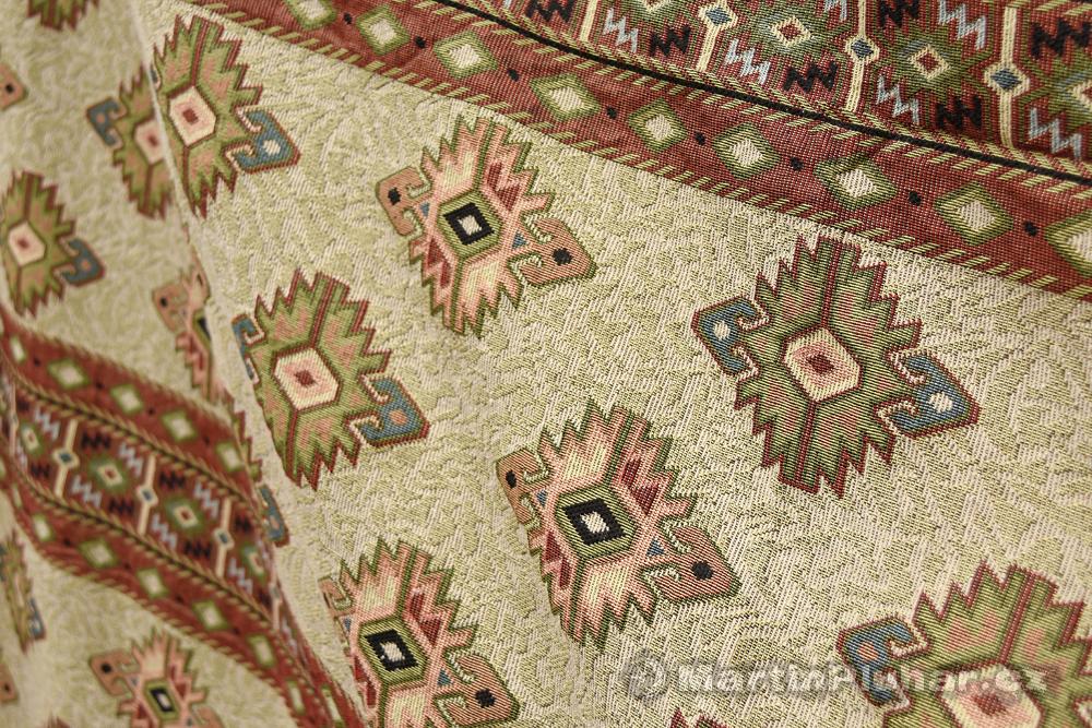 tradiční tkané koberce v Al Fahidi, čtvrť Bur Dubai