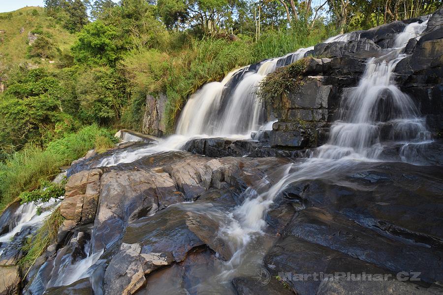Kithalella - První stupeň vodopádu Kithalella
