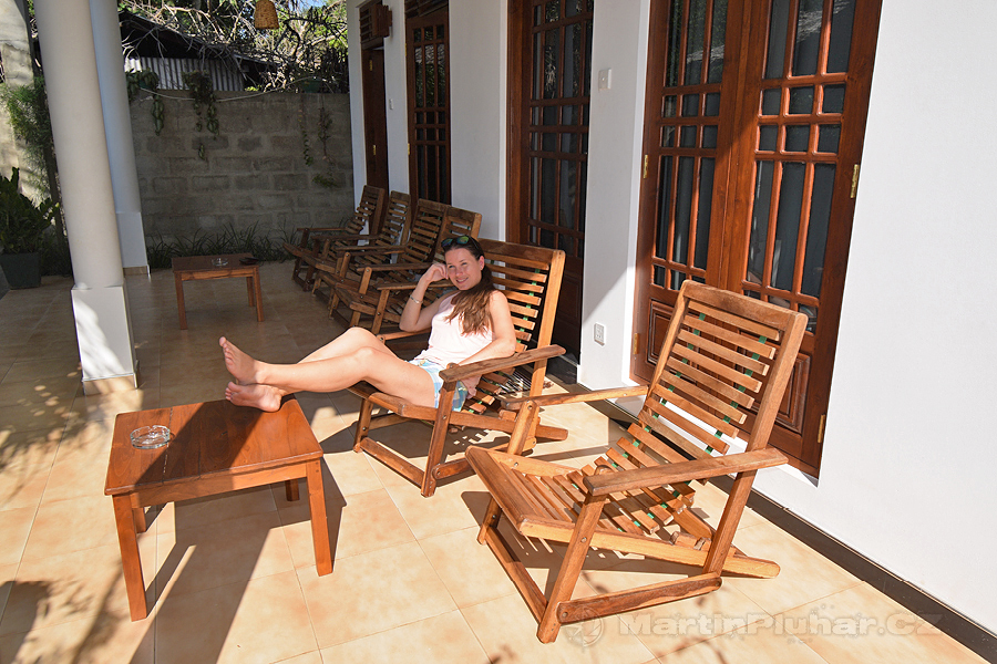 Udawalawa - Dopolední relax před sloním dnem