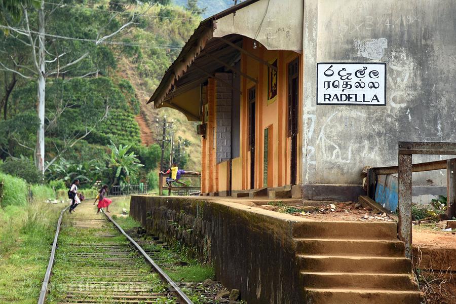 Radella - Vlaková zastávka