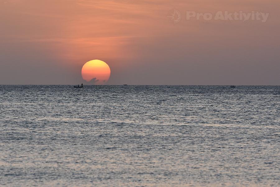 Šrí Lanka - Trinkomalé - východ slunce