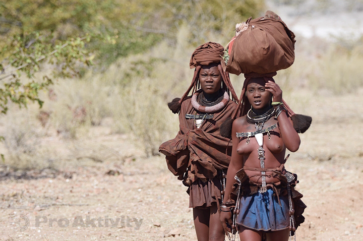 Namibie - Kunene - ženy kmene Himba