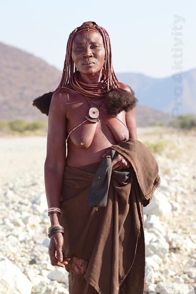 Namibie - Kunene - žena kmene Himba