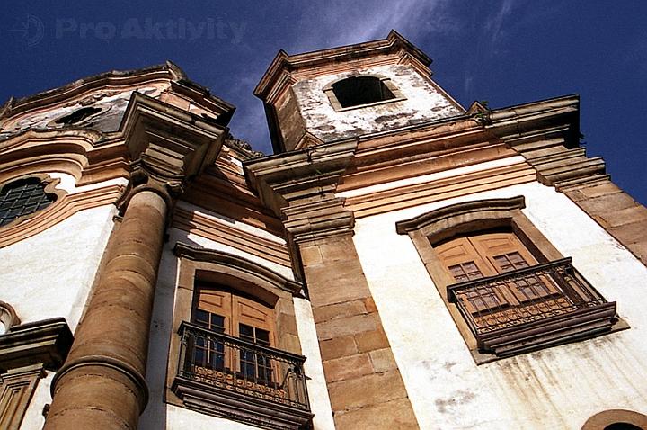 Brazílie - Ouro Preto - Kostel Matriz Nossa Senhora do Pilara