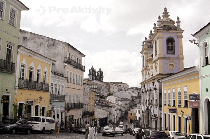 Brazílie - Salvador - Largo do Pelourinho