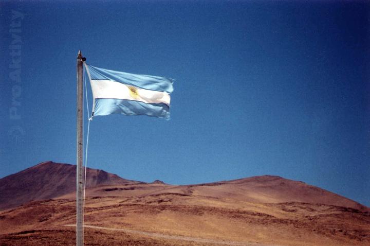 Argentina - hranice s Chile