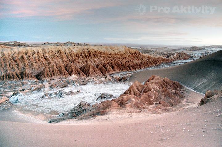 Chile - San Pedro de Atacama - poušť Atacama