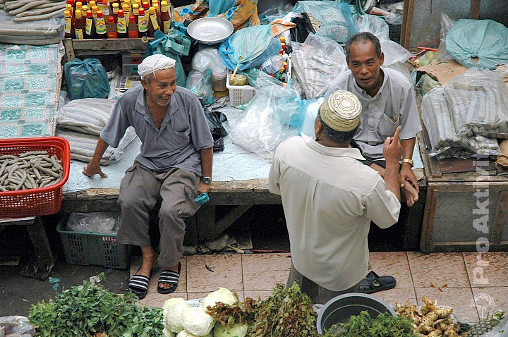 Malajsie - Kota Bharu - tržnice