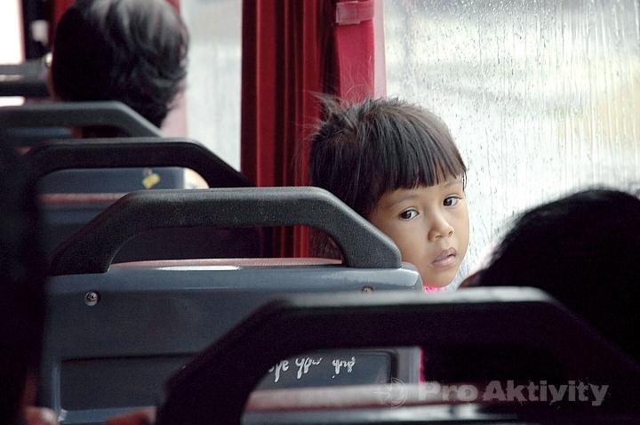 Malajsie - bus Jertih-Kota Bharu