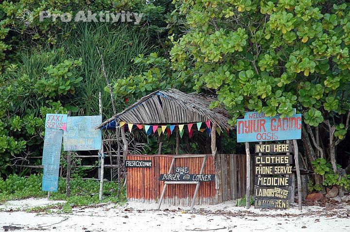 Malajsie - ostrov Perhentian Kecil - mimo sezónu