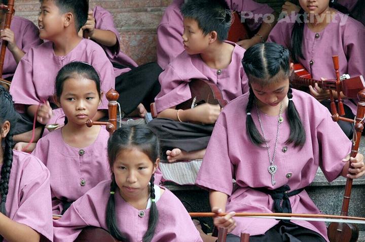 Thajsko - Chiang Mai - chrám Phrathat Doi Suthep