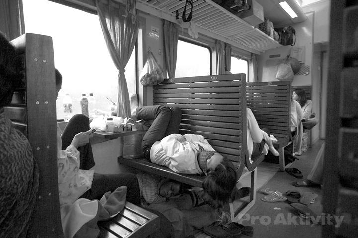Vietnam - ve vlaku Hue-Dong Hoi