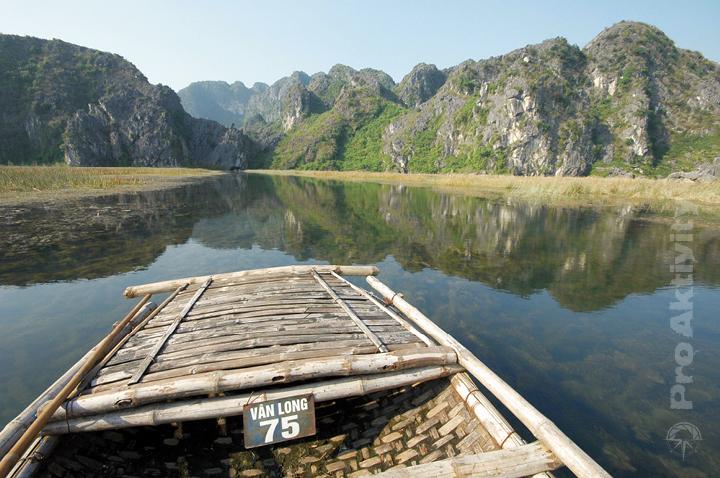 Vietnam - přírodní rezervace Van Long