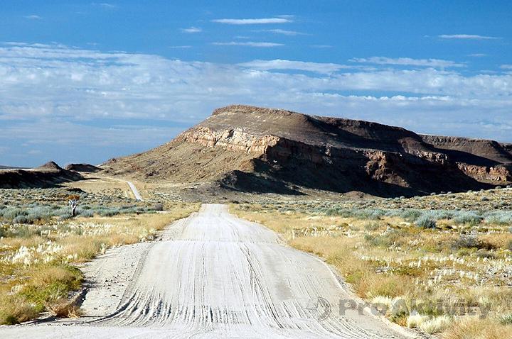Namibie - silnice C10