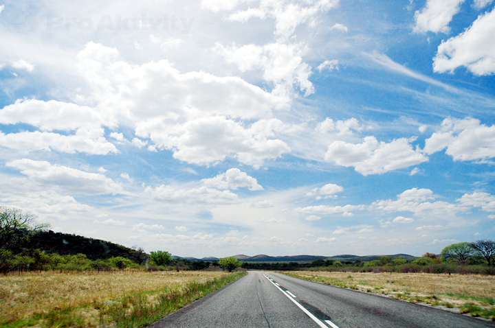 Namibie - silnice C4