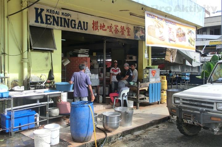 Malajsie - Keningau - nejlepší pekárna ve městě