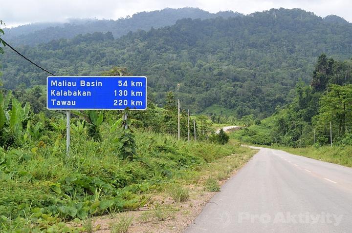 Malajsie - Sabah - cesta k Pánvi Maliau