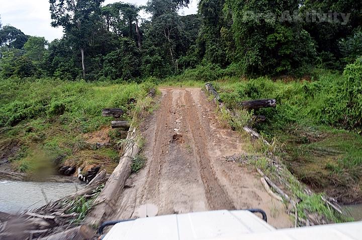 Malajsie - Sabah - cesta do Pánve Maliau