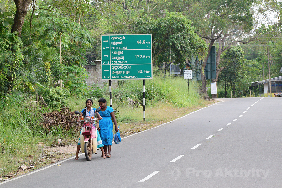 Šrí Lanka - Timbiriwewa