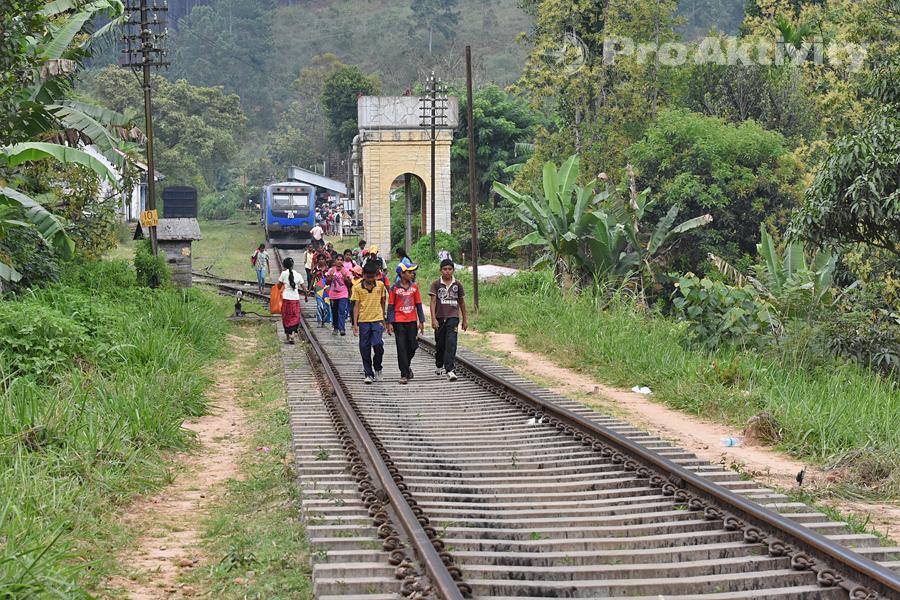 Šrí Lanka - Ella - procházka po trati