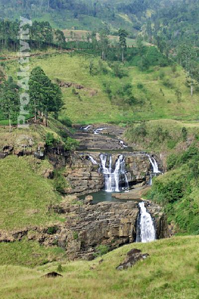 Šrí Lanka - Talawakelle - vodopád St. Claire