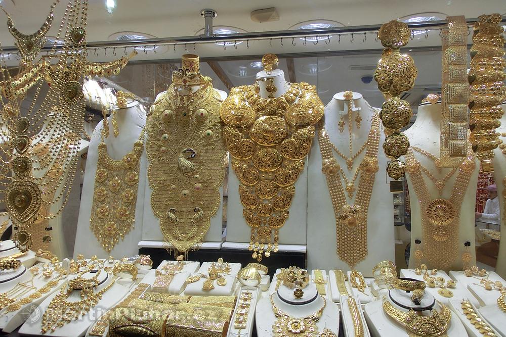 Zlatnický trh, čtvrť Deira