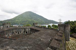 Moluky, Bandské ostrovy - ostrov Banda - Banda Neira - Belgická pevnost