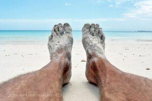 Moluky, Keiské ostrovy - Malý Keiský ostrov - pláž Pasir Panjang