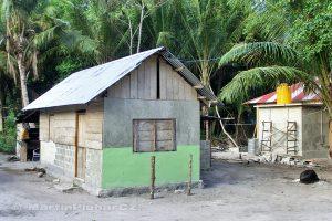 Moluky, Keiské ostrovy - Malý Keiský ostrov - Ngurbloat - domeček správce našeho ubytování