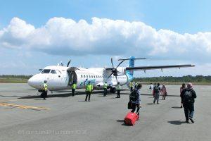 Moluky, Keiské ostrovy - Malý Keiský ostrov - letiště Langgur Karel Sadsuitubun