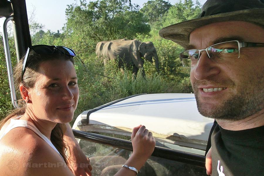 NP Udawalawa - My a sloníci