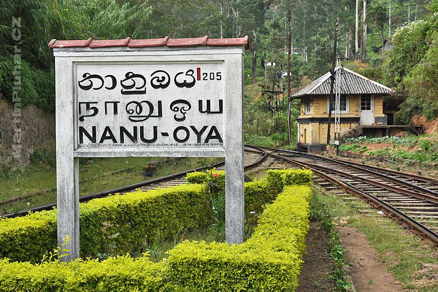 Nanuoya - Nádrážíčko jako z pohádky
