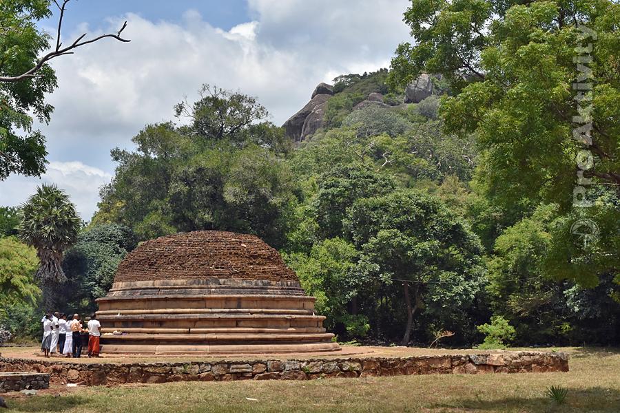 Šrí Lanka - Mihintalé - Katu Seja