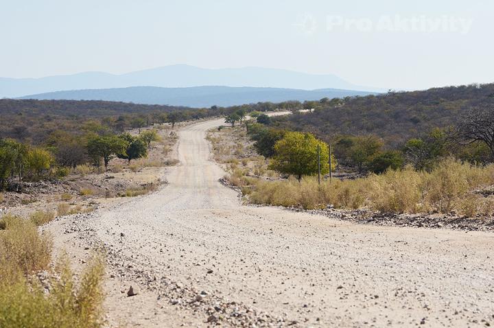 Namibie - Kunene - silnice D3700