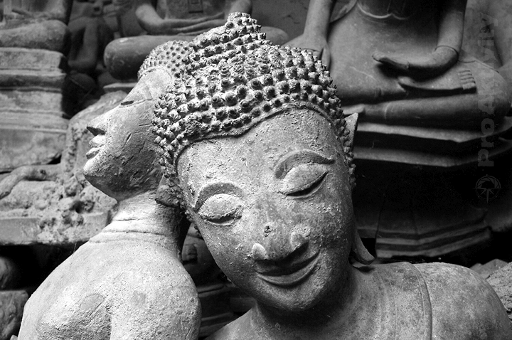Laos - Vientiane - chrám Si Saket