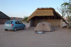 Namibie - kemp Aba-Huab